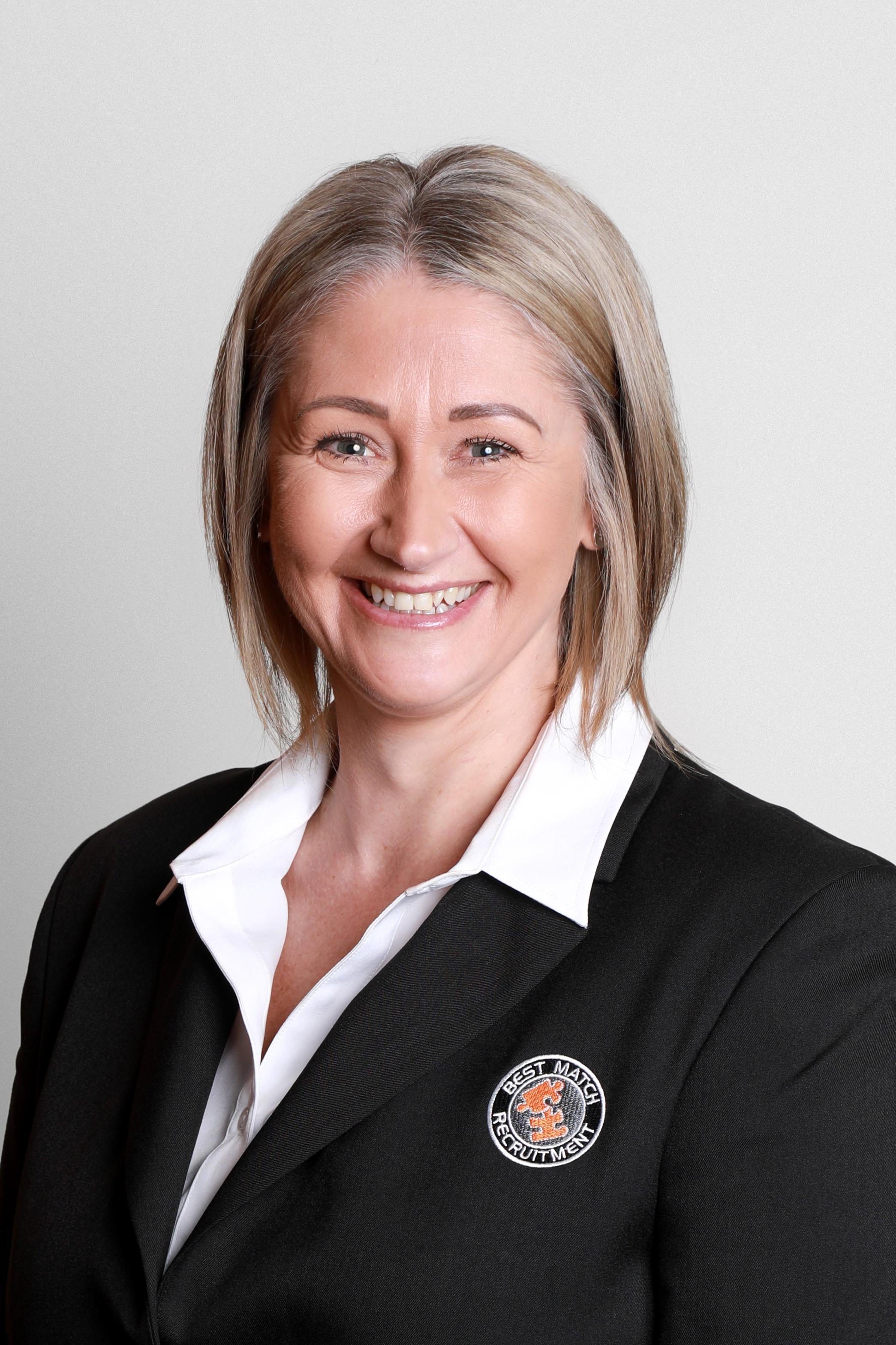 Best Match Recruitment staff Kath Davis